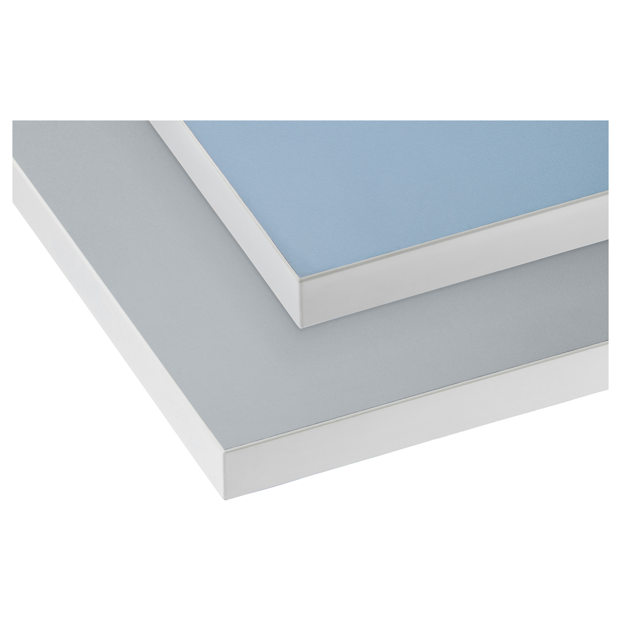 Standard Bench Top Double Sided - Grey and Blue