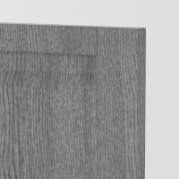 Berlin door Cedar Silver - Vertical Grain handle