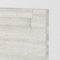 Berlin door Cedar Whitewashed - Horizontal Grain handle