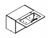 Body Diagram for Wall cabinet W60G1S for Kitchen