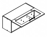 Body Diagram for Wall cabinet W80G1