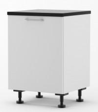 Milan - 600mm wide Single Door Base Cabinet