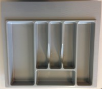 Grey Cutlery Insert 600mm for in Kitchen Drawers