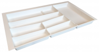 Matte White Cutlery Insert for 500 wide Drawer