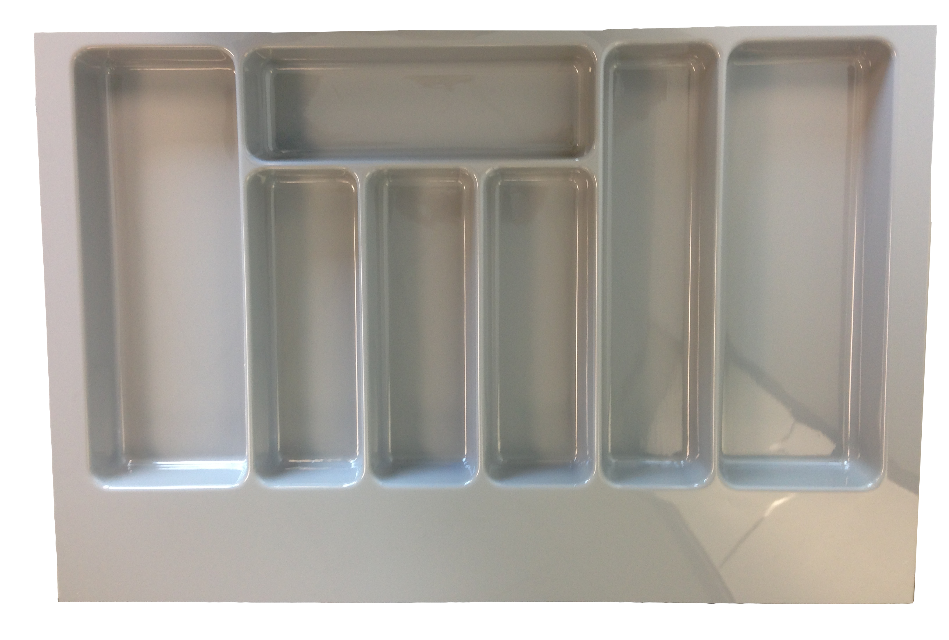 Grey Cutlery Insert 800mm for in Kitchen Drawers