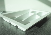 400mm wide Plastic Cutlery Insert 2 for Kitchen Drawers