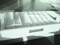 800 wide Plastic Cutlery Insert Inside Drawer for Kitchen Drawers