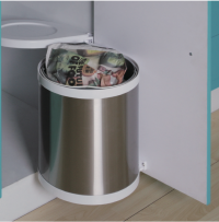 Rotary Rubbish Bin Example Image for Kitchen