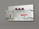 European Made Entertainment Unit Glass Shelves for Living Room
