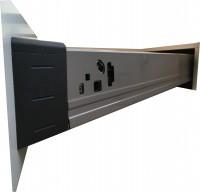 Euro Low Corner Drawer Runner - Full Extension Image for Kitchen