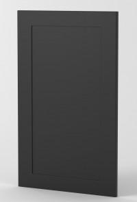 Rhodes Black Midnight Matte Door