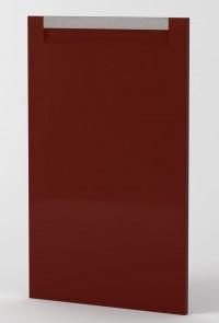 BERLIN - DOOR - BURNT RED GLOSS - HANDLE MOUNTAIN OAK