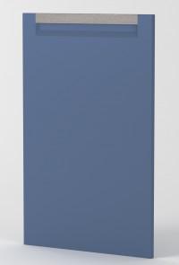 BERLIN - DOOR - COASTAL BLUE MATTE- HANDLE MOUNTAIN OAK