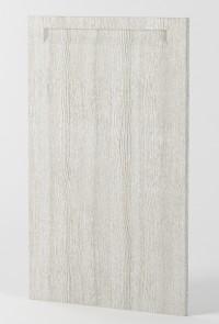 Berlin door Cedar Whitewashed - Vertical Grain handle
