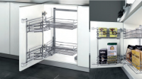 Base Cabinet 450mm or 600mm wide Basket Solution - Fashion Style