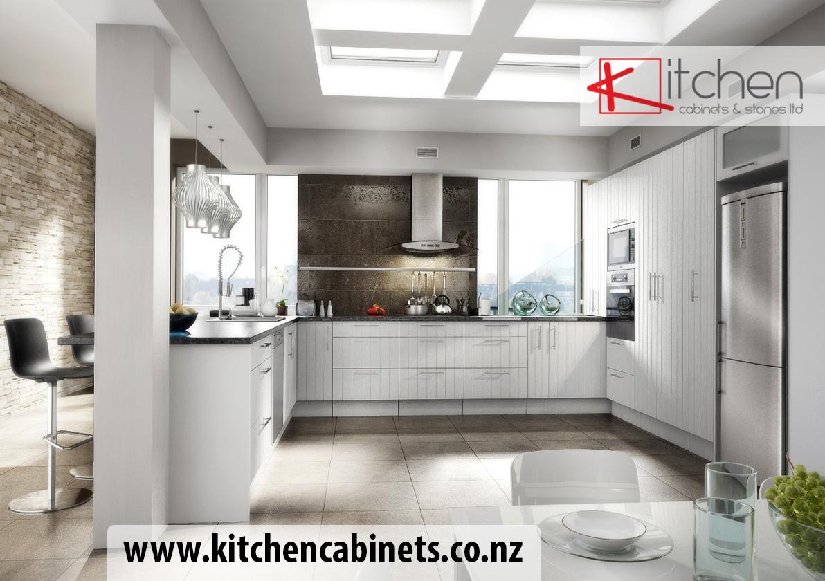 foEuro Kitset Kitchen Arctic White U Shape with Logo for Kitchen
