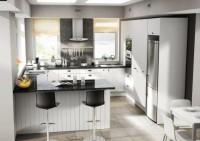 Euro Kitset Kitchen Arctic White G Shape  for Kitchen