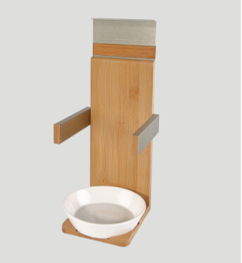 Bowl/Plate Holder Modular Shelf Section 135mm for Kitchen