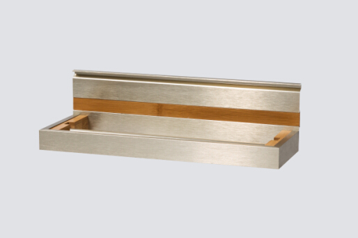 Hanging Rail Modular Shelf Section 400mm for Kitchen
