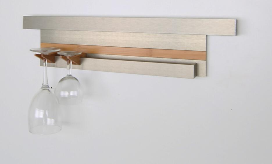 Glass Rack Modular Shelf Section 445mm for Kitchen