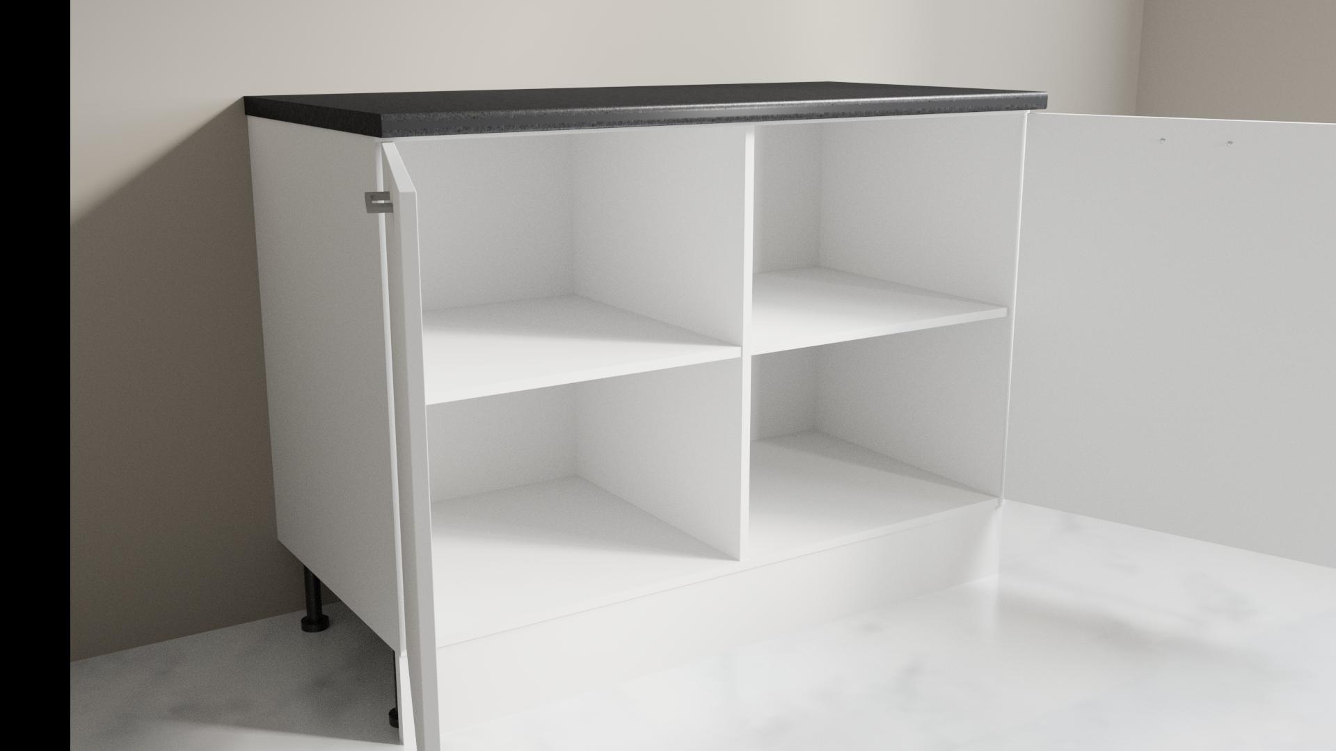Niki 1200mm Wide Base Cabinet Image S120 for Kitchen