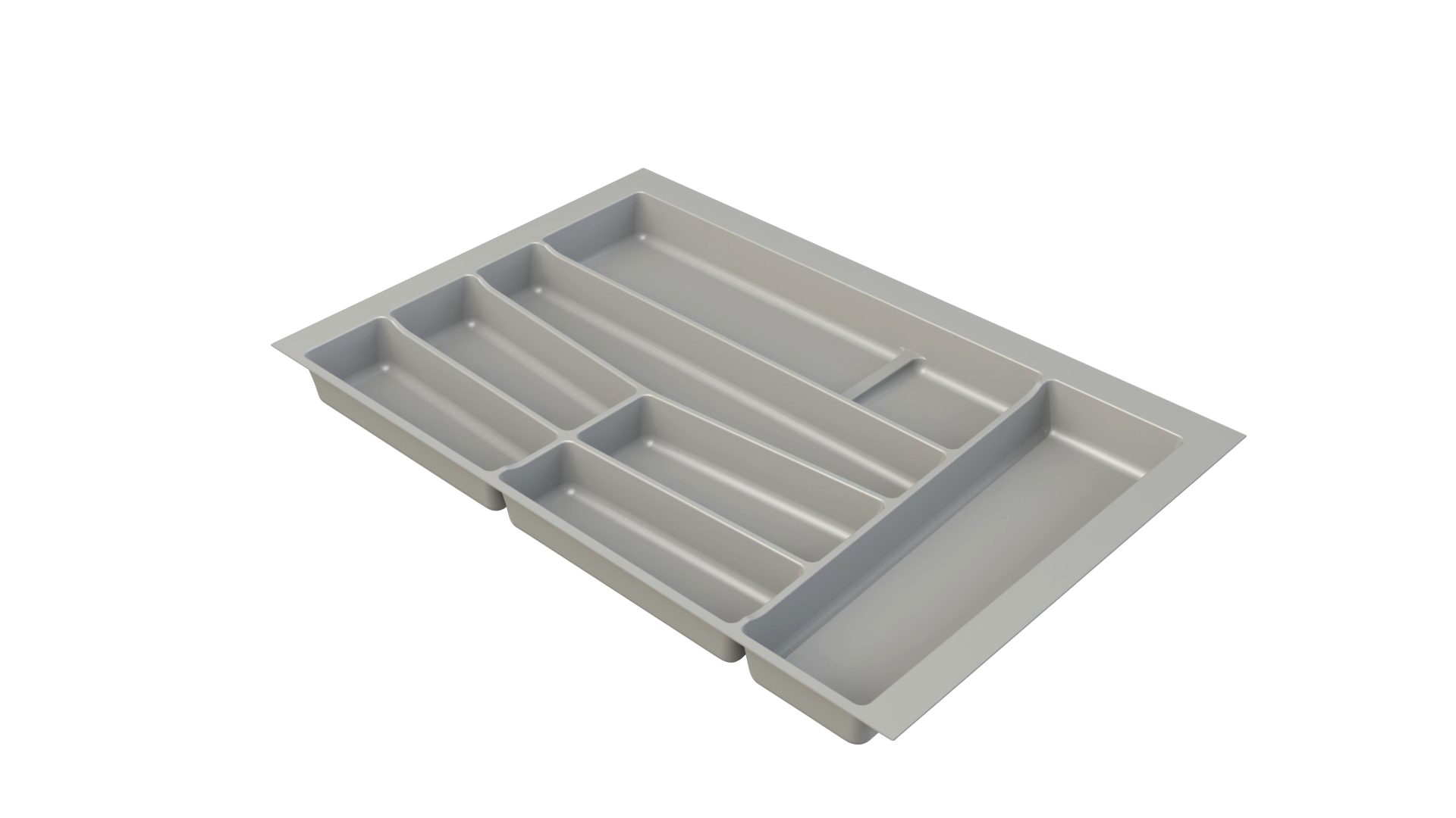 Premium Grey Cutlery Insert for 800mm wide Drawer for Kitchen
