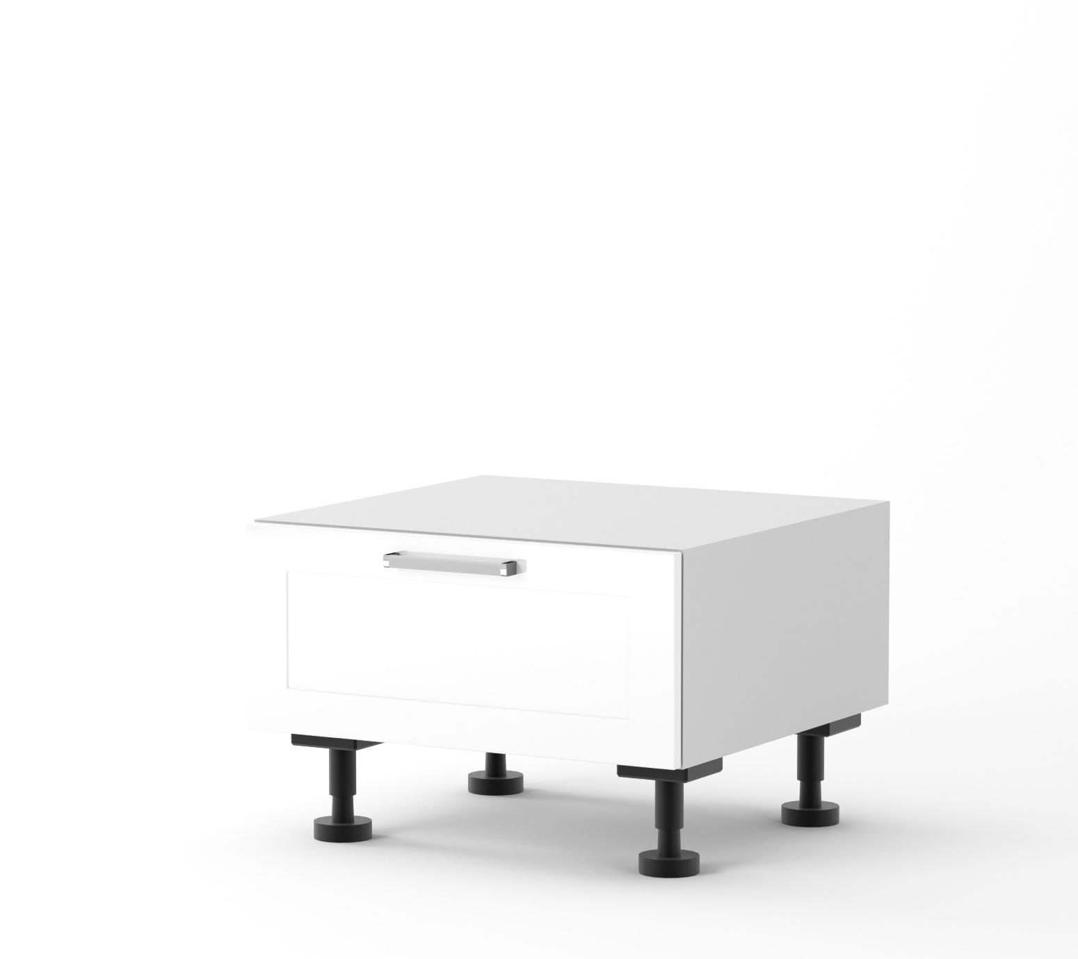 Rhodes - 600mm wide 416mm High Dish Drawer Base Cabinet