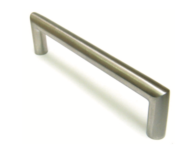 Brushed Steel Furniture Handle for Kitchen Cabinets