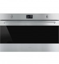 Smeg SFP9395X1 90cm Pyrolytic Single Wall Oven