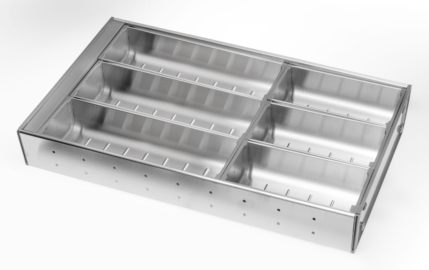 Stainless Steel Cutlery Insert for 400mm wide Drawer  for Kitchen