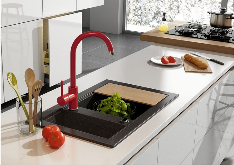 Wide variety of taps and sinks for kitchens