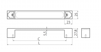 Handle UZ-79F Dimensions for Planning