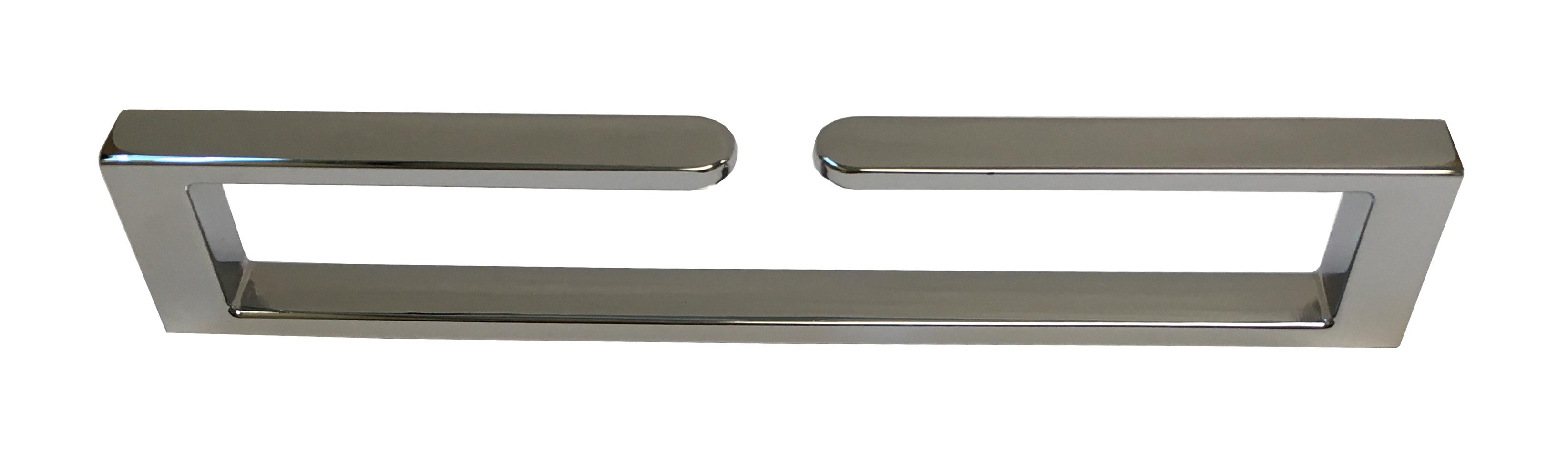 Chrome Senior Handle UZ-SENIOR-160-01 Side Angle for Kitchen
