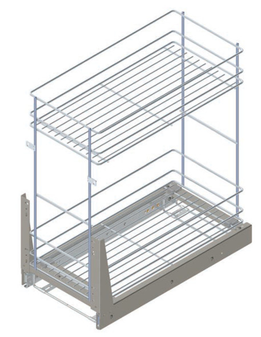 Internal Basket for 300/500mm Wide Base Cabinet for Kitche