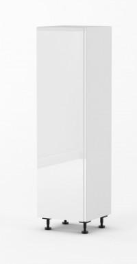 J-Pull - Gloss White - 600mm pantry - Vertical Handle