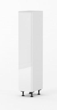 J-Pull - Gloss White - 400mm pantry - Vertical Handle