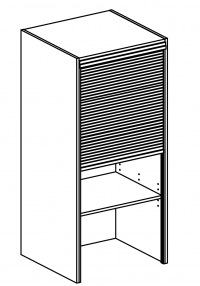 W60/132/60/SHUTTER Body Diagram for Kitchen