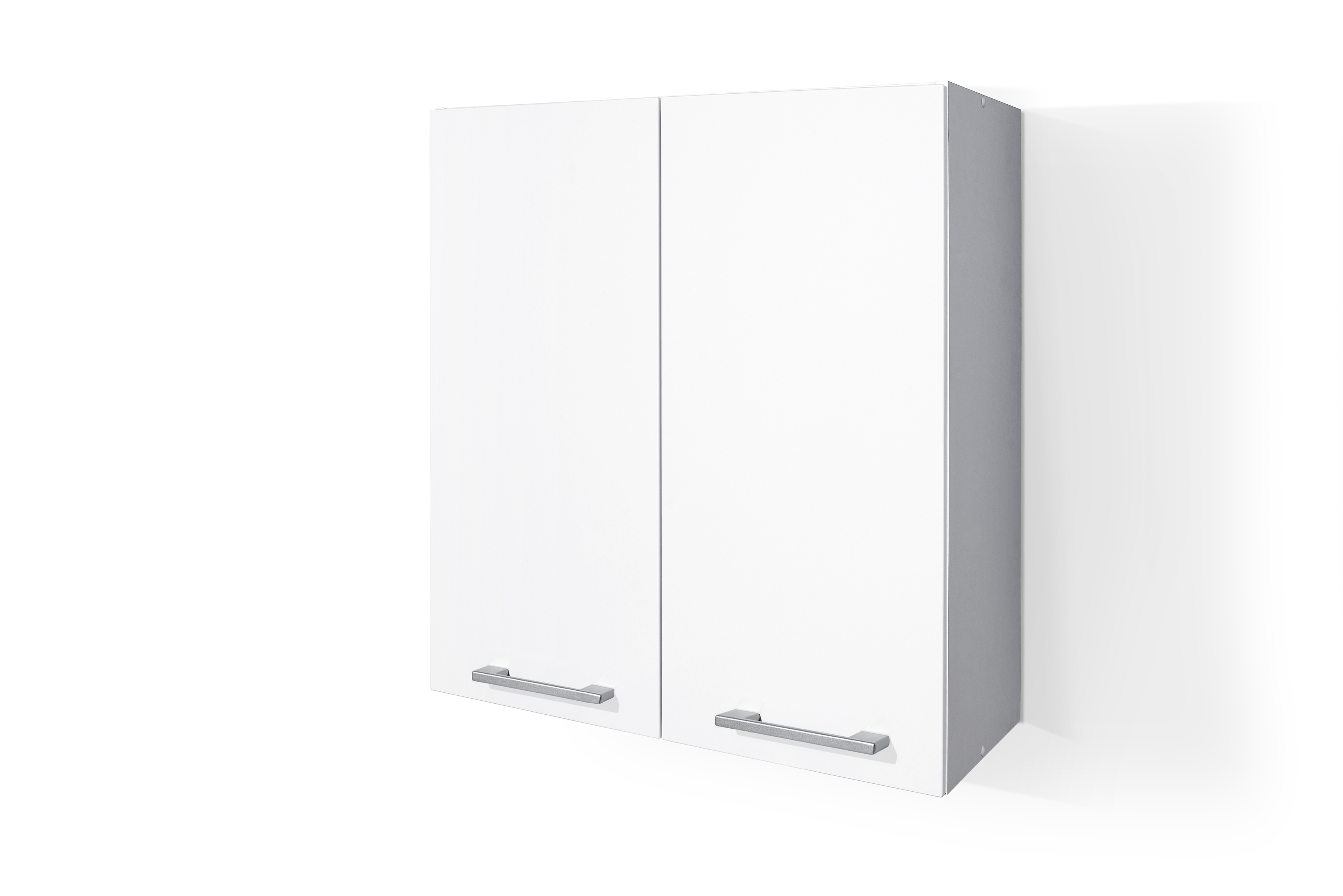 PVC Satin White Wall cabinet W60 for Kitchen