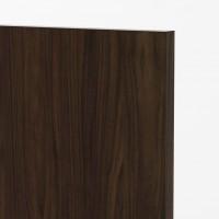 Milan Walnut Vertical Door Close up