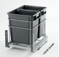 17L Rubbish Bins Insert for 400mm wide Cabinet - 307012 for
