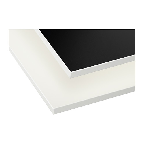 White and Black Bench top Edges for Kitchen