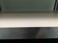 White w Silver Edging Standard Bench top 3 for Kitchen