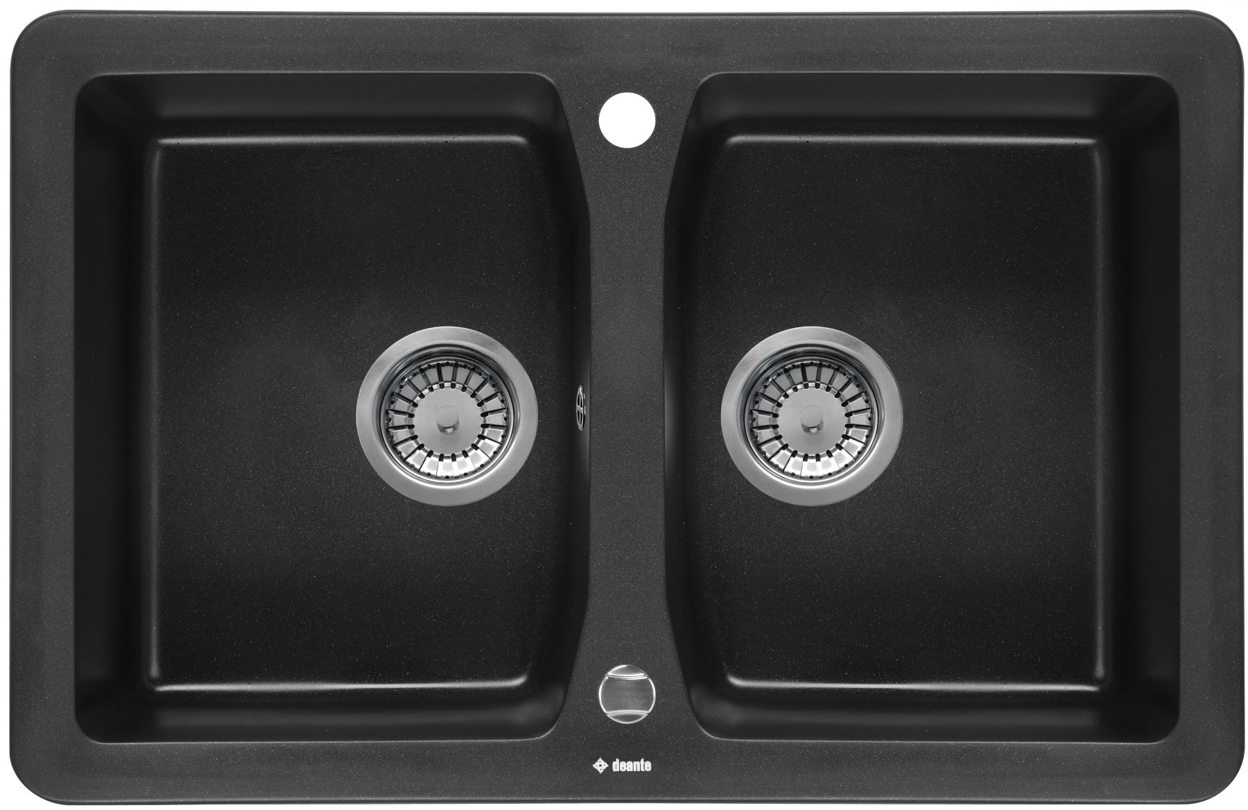 European Made Granite Sink Vivo 2 Bowl w/ no Drainer for Kitchen
