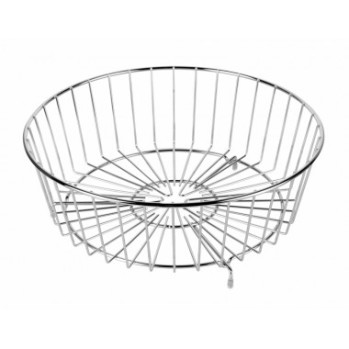 Metal Draining Basket for a Round Bowl Sink for in the Kitchen