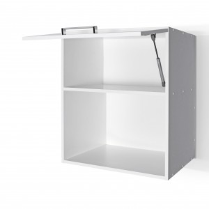 600mm wide wall microwave cabinet with door and soft close